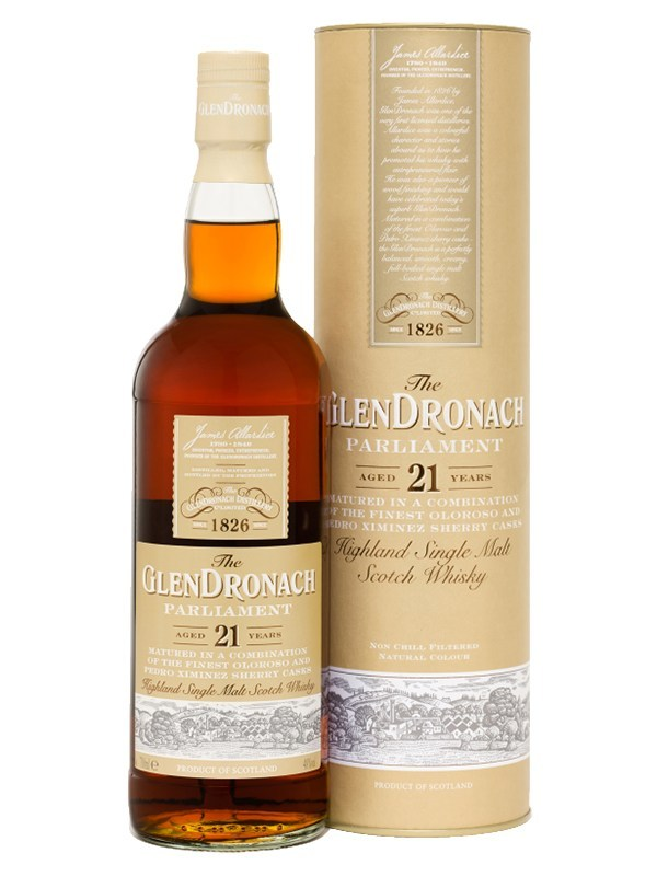 GlenDronach Parliament 21 Year Old Scotch Whisky