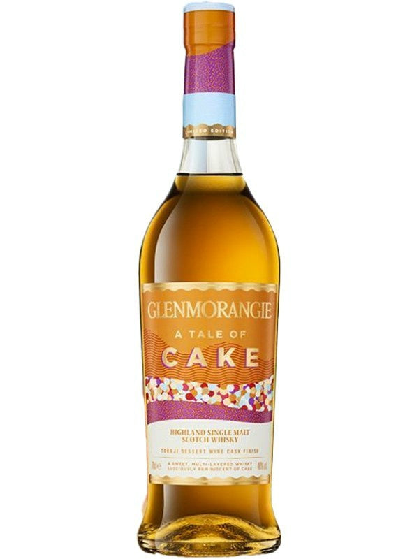 Glenmorangie A Tale of Cake Tojaki Dessert Wine Cask Finish Scotch Whisky - Scotch - Don's Liquors & Wine - Don's Liquors & Wine