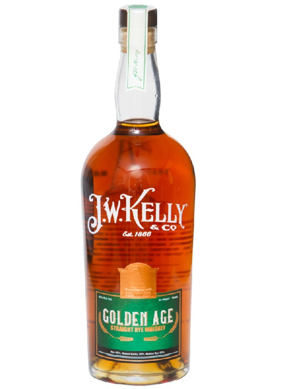 J.W. Kelly Golden Age Straight Rye Whiskey