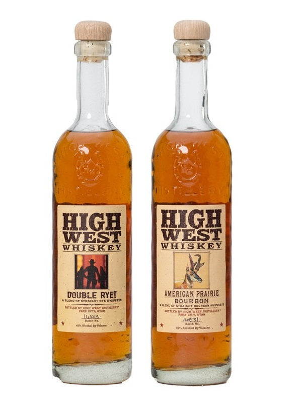 High West 2 Bottle Combo