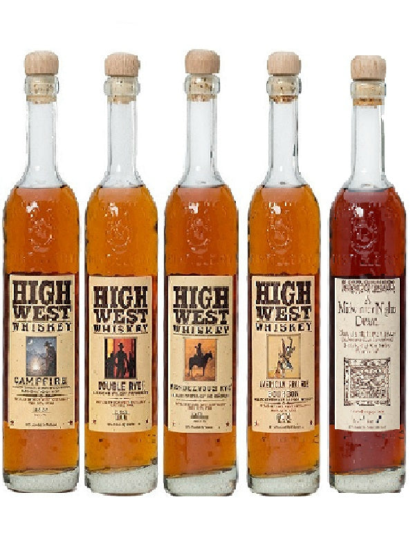 High West 5 Bottle Combo Collection - Whiskey - Don's Liquors & Wine - Don's Liquors & Wine