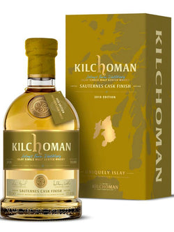 Kilchoman 2018 Sauternes Cask Finished Single Malt Scotch - Scotch - Don's Liquors & Wine - Don's Liquors & Wine
