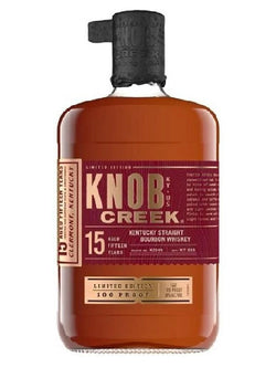 Knob Creek 15 Year Old Bourbon Whiskey - Whiskey - Don's Liquors & Wine - Don's Liquors & Wine