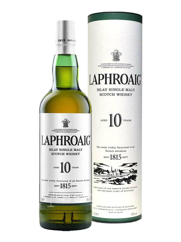Laphroaig 10 Year Scotch Whiskey - Scotch - Don's Liquors & Wine - Don's Liquors & Wine