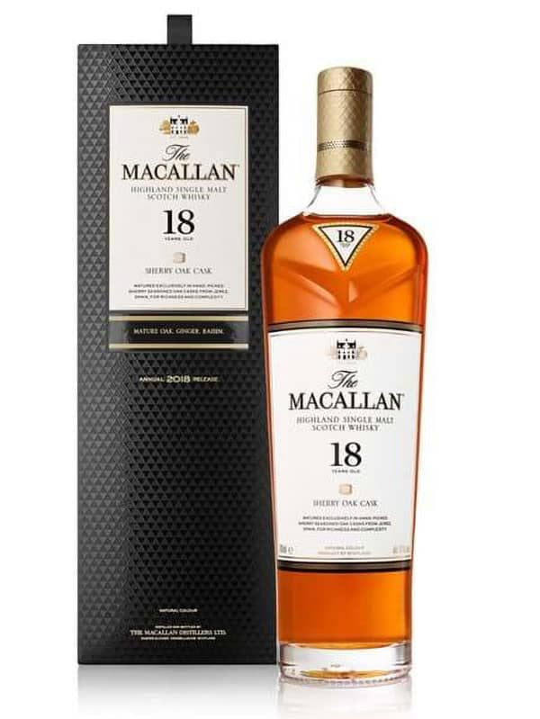 Macallan 18 Years Sherry Oak Scotch - Scotch - Don's Liquors & Wine - Don's Liquors & Wine