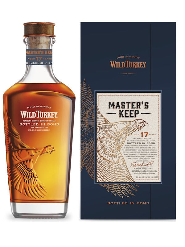 Wild Turkey Master's Keep Bottled In Bond 17 Year Old - Whiskey - Don's Liquors & Wine - Don's Liquors & Wine