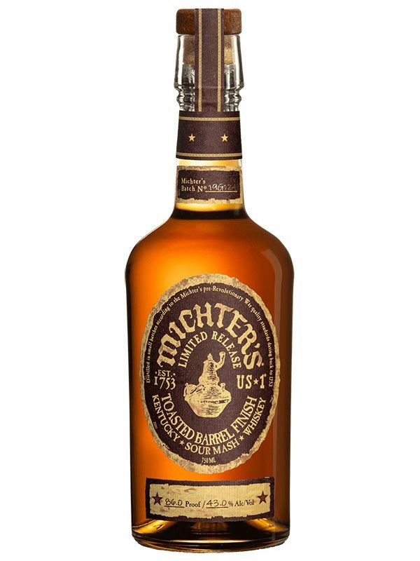 Michter's Toasted Barrel Finish Sour Mash Whiskey - Whiskey - Don's Liquors & Wine - Don's Liquors & Wine