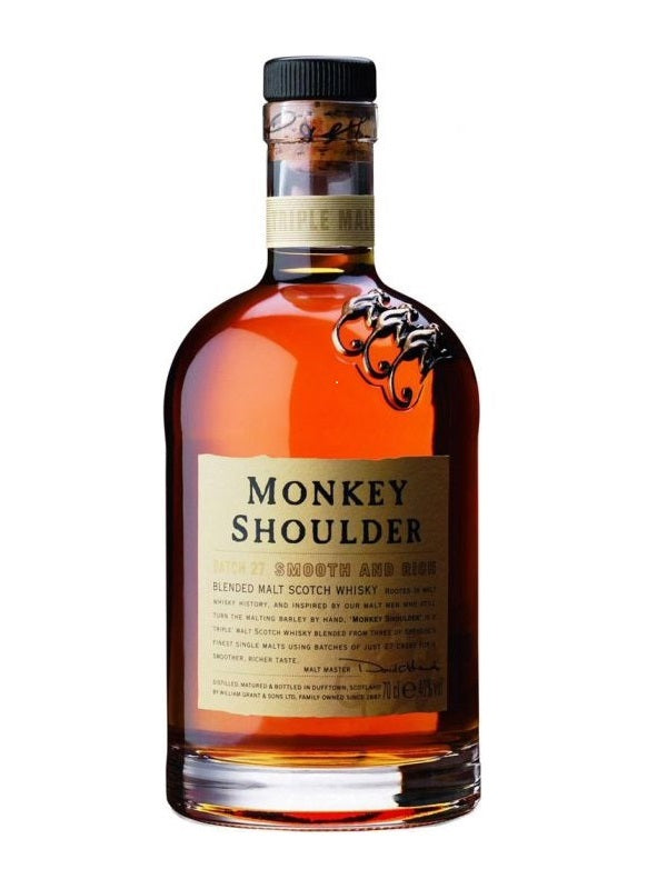 Monkey Shoulder Batch 27 Blended Malt Scotch Whisky - Scotch - Don's Liquors & Wine - Don's Liquors & Wine
