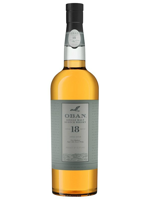 Oban 18 Years Old Scotch Whisky
