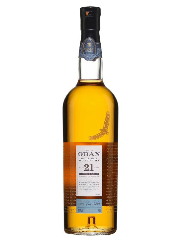 Oban 21 Year Old Scotch Whisky