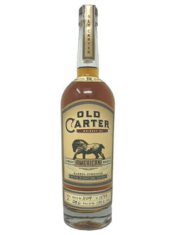 Old Carter American Batch 3 - Bourbon - Don's Liquors & Wine - Don's Liquors & Wine