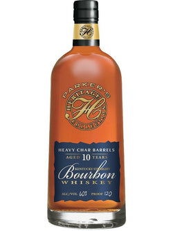 Parker's Heritage Collection 14th Edition 10 Year Old Heavy Char Barrels Bourbon Whiskey