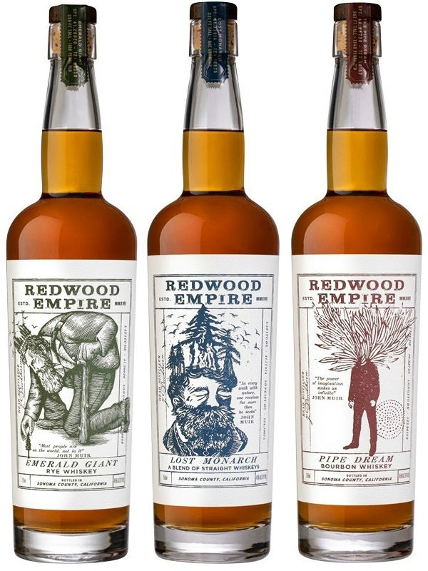 Redwood Empire Pipe Dream Bourbon Whiskey Combo - Don's Liquors & Wine