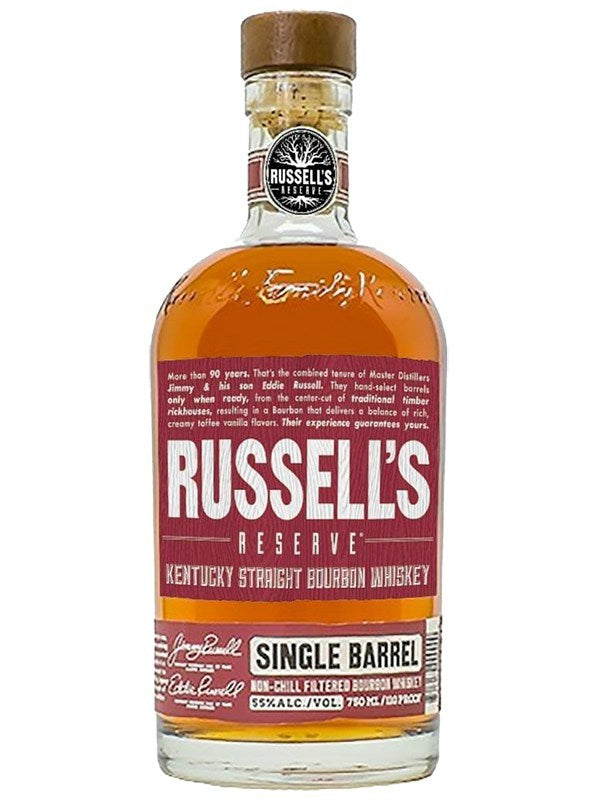 Russell's Reserve Single Barrel Bourbon Whiskey - Bourbon - Don's Liquors & Wine - Don's Liquors & Wine