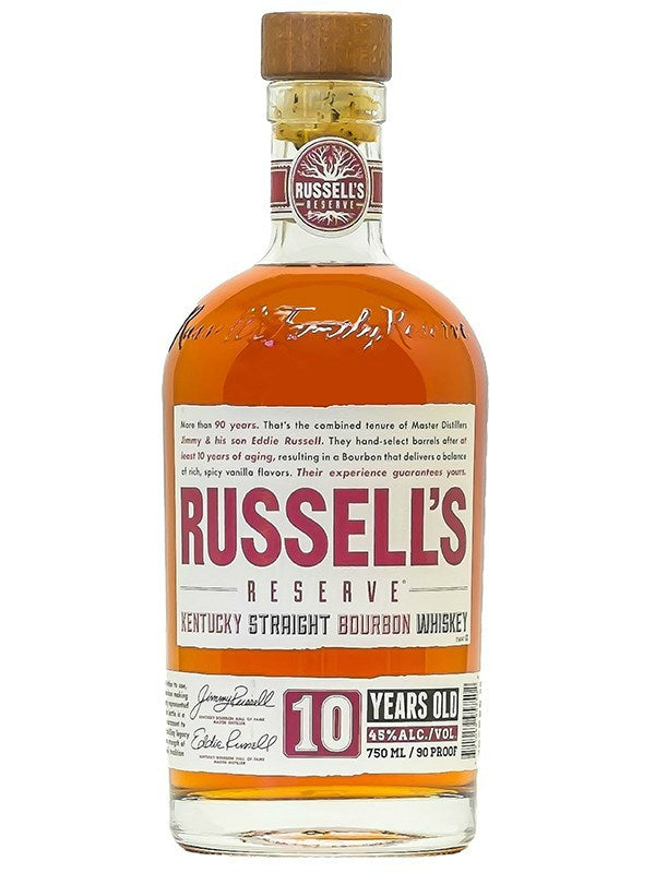 Russell's Reserve 10 Year Old Bourbon Whiskey - Bourbon - Don's Liquors & Wine - Don's Liquors & Wine