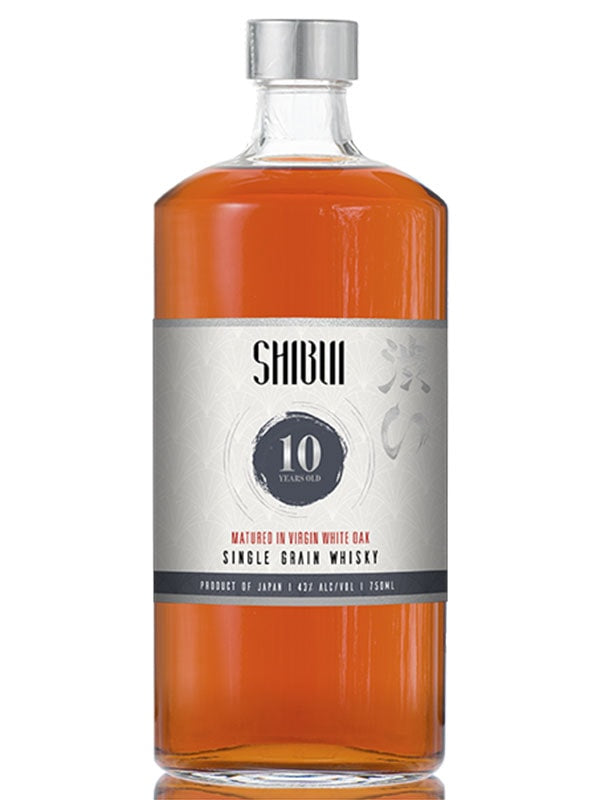 Shibui 10 Year Virgin White Oak Single Grain Whisky