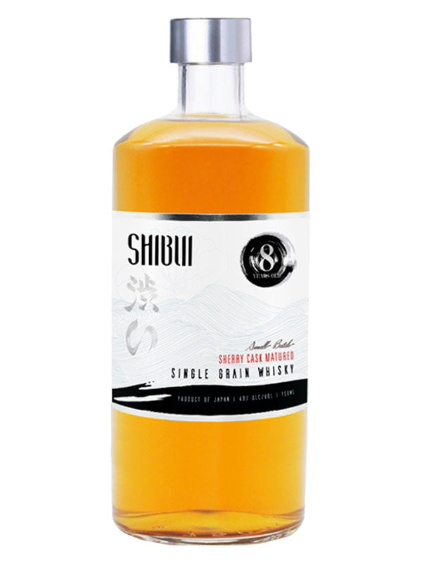 Shibui 8 Year Old Single Grain Small Batch Whisky