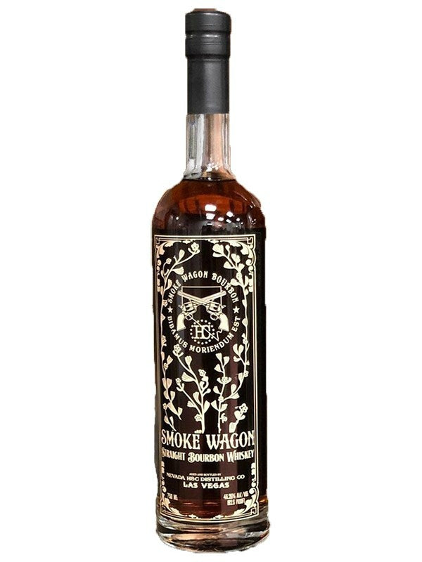 Smoke Wagon Straight Bourbon Whiskey - Whiskey - Don's Liquors & Wine - Don's Liquors & Wine