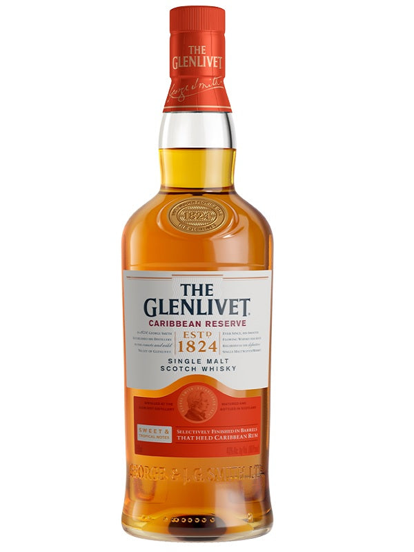 The Glenlivet Caribbean Reserve - Scotch - Don's Liquors & Wine - Don's Liquors & Wine