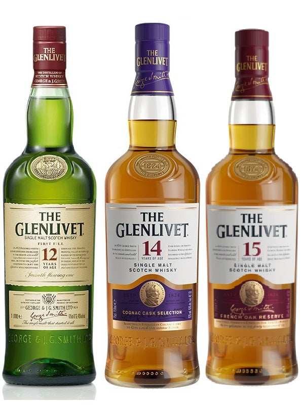 The Glenlivet Single Malt Combo - Scotch - Don's Liquors & Wine - Don's Liquors & Wine