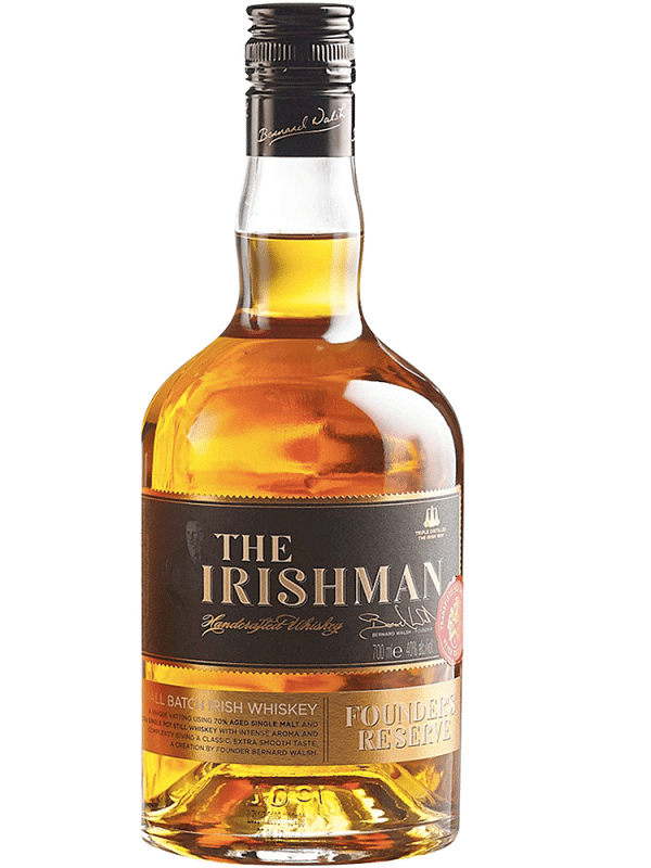 The Irishman Founder's Reserve Small Batch Irish Whiskey