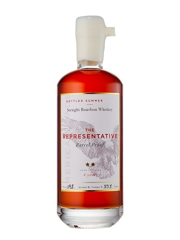 The Representative Barrel Proof Straight Bourbon Whiskey