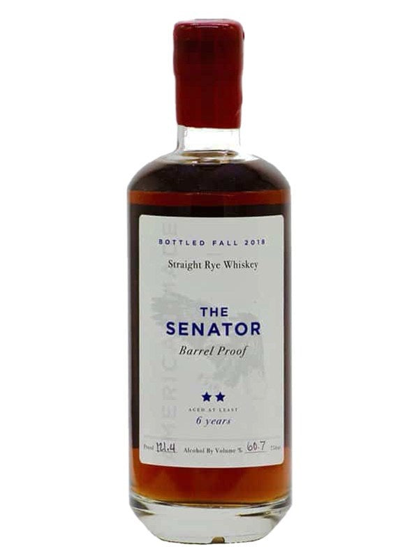 The Senator Barrel Proof 6 Year Old Rye - Bourbon - Don's Liquors & Wine - Don's Liquors & Wine