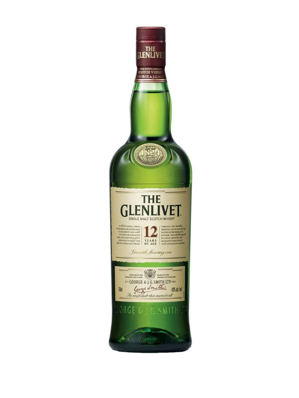 The Glenlivet 12 Year Old Single Malt - Scotch - Don's Liquors & Wine - Don's Liquors & Wine