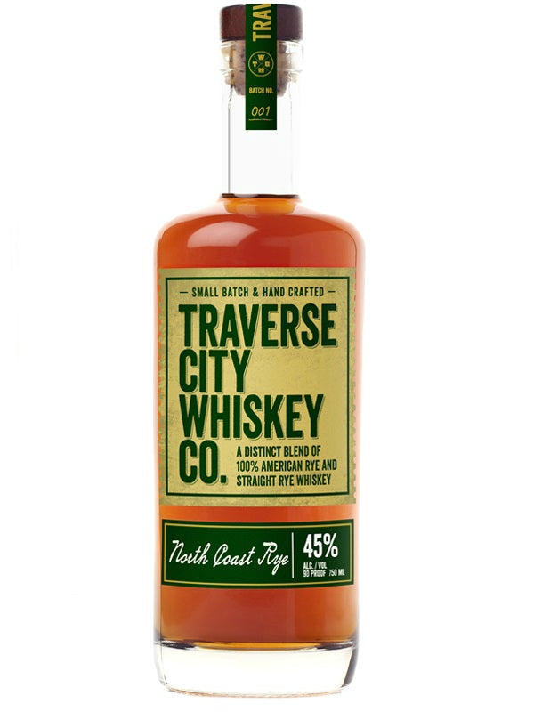 Traverse City Whiskey Co. North Coast Rye - Whiskey - Don's Liquors & Wine - Don's Liquors & Wine