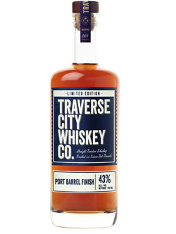 Traverse City Whiskey Co. Port Barrel Finish - Whiskey - Don's Liquors & Wine - Don's Liquors & Wine