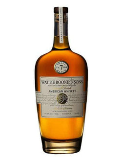 Wattie Boone & Sons 7 Year Whiskey - Whiskey - Don's Liquors & Wine - Don's Liquors & Wine