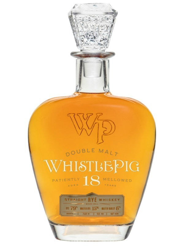 WhistlePig Double Malt 18 Year Old Rye Whiskey - Whiskey - Don's Liquors & Wine - Don's Liquors & Wine