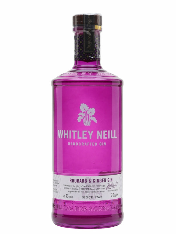 Whitley Neill Rhubarb and Ginger Gin - Gin - Don's Liquors & Wine - Don's Liquors & Wine