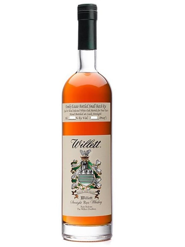 Willett Family Estate 4 Year Old Small Batch Rye Whiskey 110 Proof 750ml