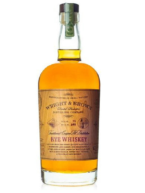 Wright & Brown Rye Whiskey - Whiskey - Don's Liquors & Wine - Don's Liquors & Wine