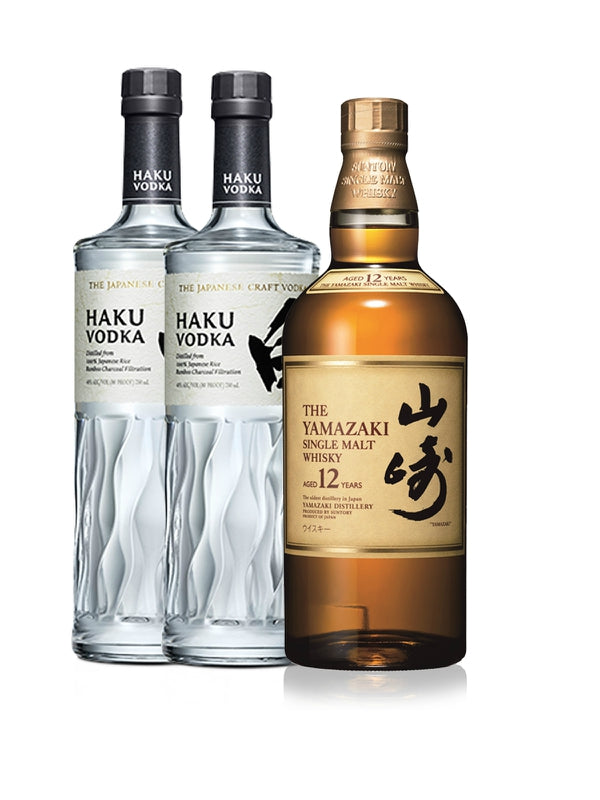 Yamazaki 12 Year & Haku Japanese Vodka - Whiskey - Don's Liquors & Wine - Don's Liquors & Wine