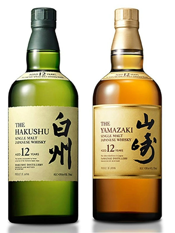 Yamazaki & Hakushu 12 Year - Whiskey - Don's Liquors & Wine - Don's Liquors & Wine