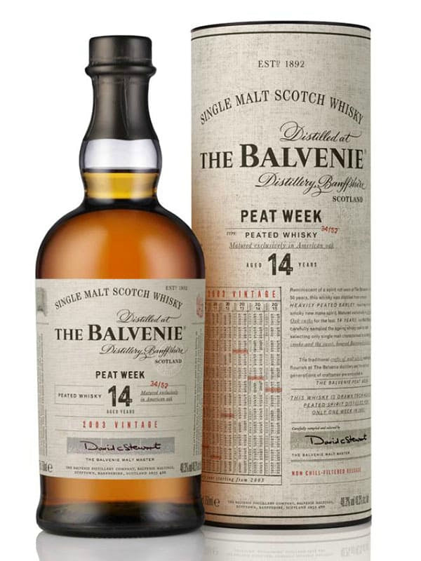 The Balvenie Peat Week 14 Year Whiskey - Scotch - Don's Liquors & Wine - Don's Liquors & Wine