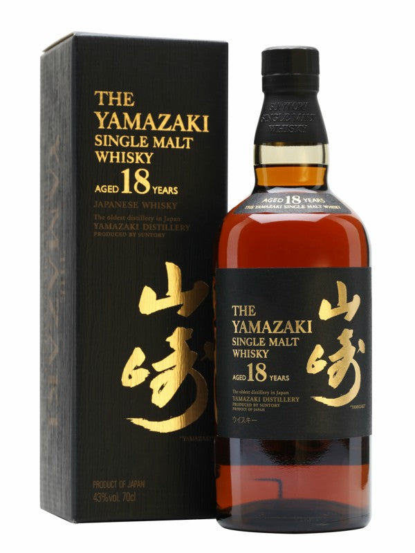 Yamazaki Single Malt Whisky 18 Year Old - Japanese Whisky - Don's Liquors & Wine - Don's Liquors & Wine