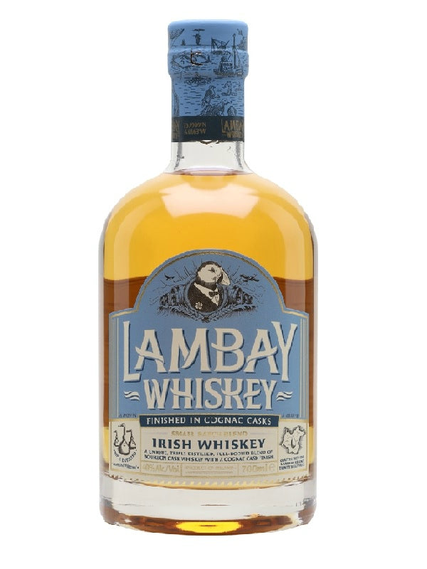 Lambay Small Batch Cognac Cask Whiskey - Whiskey - Don's Liquors & Wine - Don's Liquors & Wine