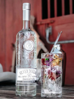 Smoke Wagon Silver Dollar Small Batch American Vodka - Vodka - Don's Liquors & Wine - Don's Liquors & Wine