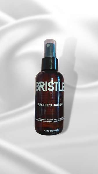 BRISTLE ARCHIE'S HAIR OIL - With Marula Oil