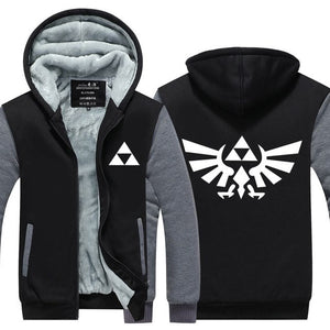 Fans Made Legend of Zelda Zipper Hoodie