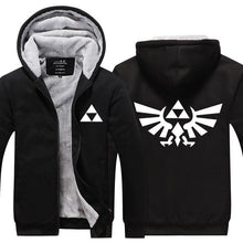 Load image into Gallery viewer, Fans Made Legend of Zelda Zipper Hoodie
