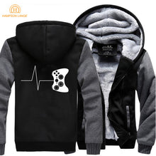 Load image into Gallery viewer, Gamer Warm Fleece Jacket