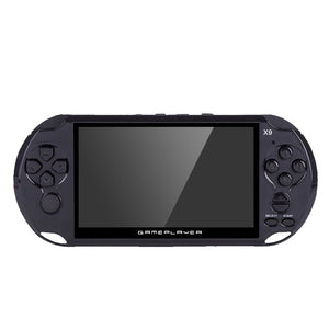 10000 Games 5.0 Large Screen Handheld Game console Player Support TV Output With MP5/Movie Camera Multimedia Video Game Console