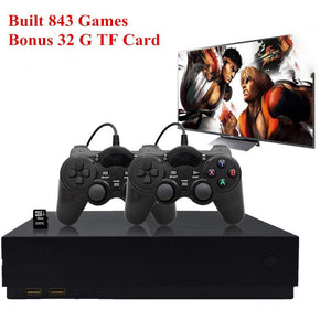 TOP Retro Game Console, Entertainment System HD Video Game Console 32GB 800 Classic Games 4K HDMI TV Output with 2PCS Joystic