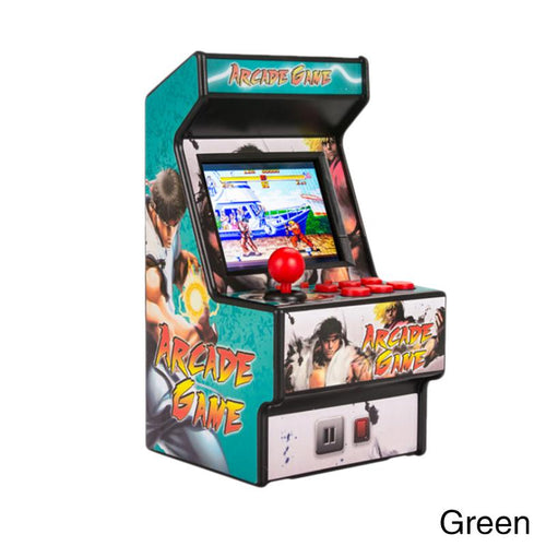 Mini arcade handheld game console classic retro game console 16-bit console new street childhood memory overlord family arcade
