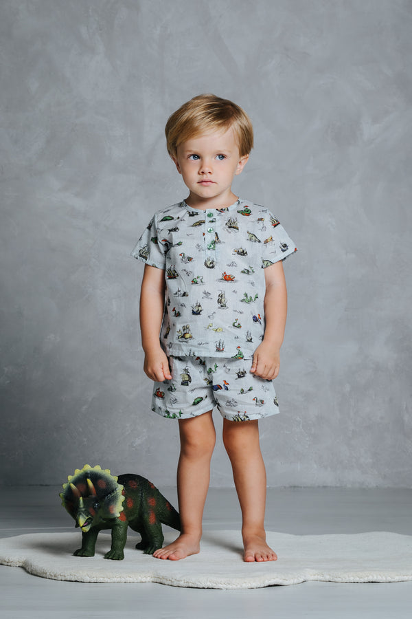 Boys' short sleeved pyjama set Harry