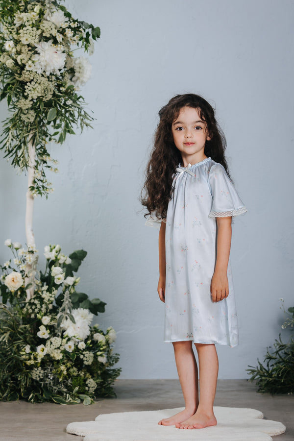 Graceful children's silk nightdress Antonia